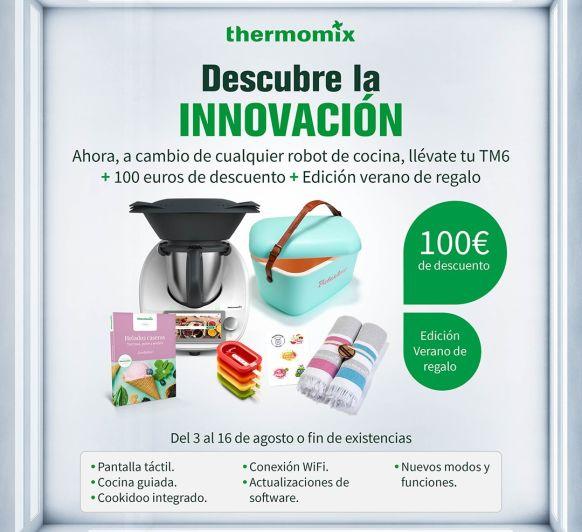 Descompta't 100€ per un electrodomèstic antic i per 21'18€ al mes......tens el teu TM6 nou..