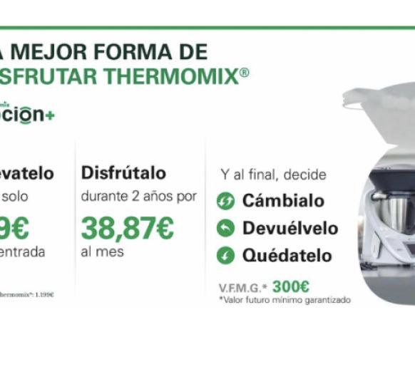 Opcion + , La mejor manera de disfrutar de Thermomix®