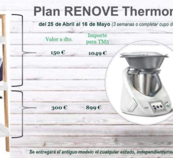 PLAN RENOVE Thermomix® modelos anteriores a TM5