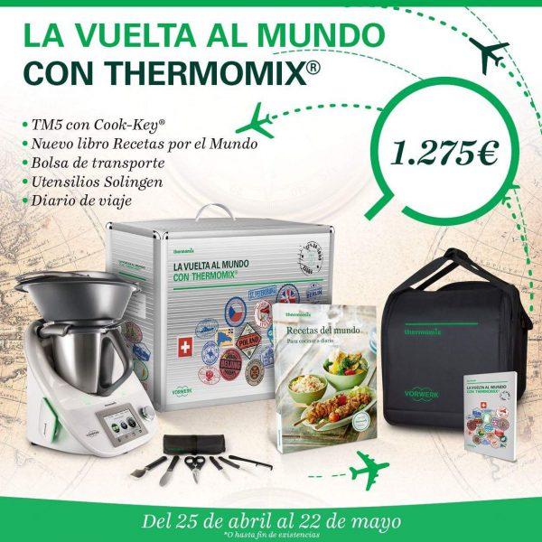 NUEVA EDICIÓN LA VUELTA AL MUNDO CON Thermomix®