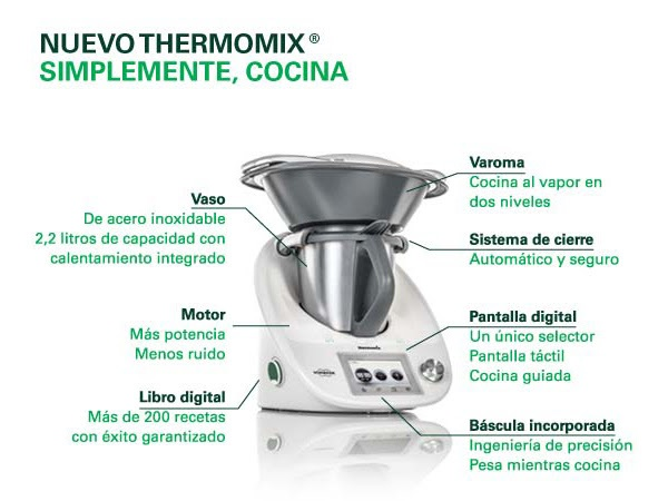 El Thermomix® ya es toda una mujer...