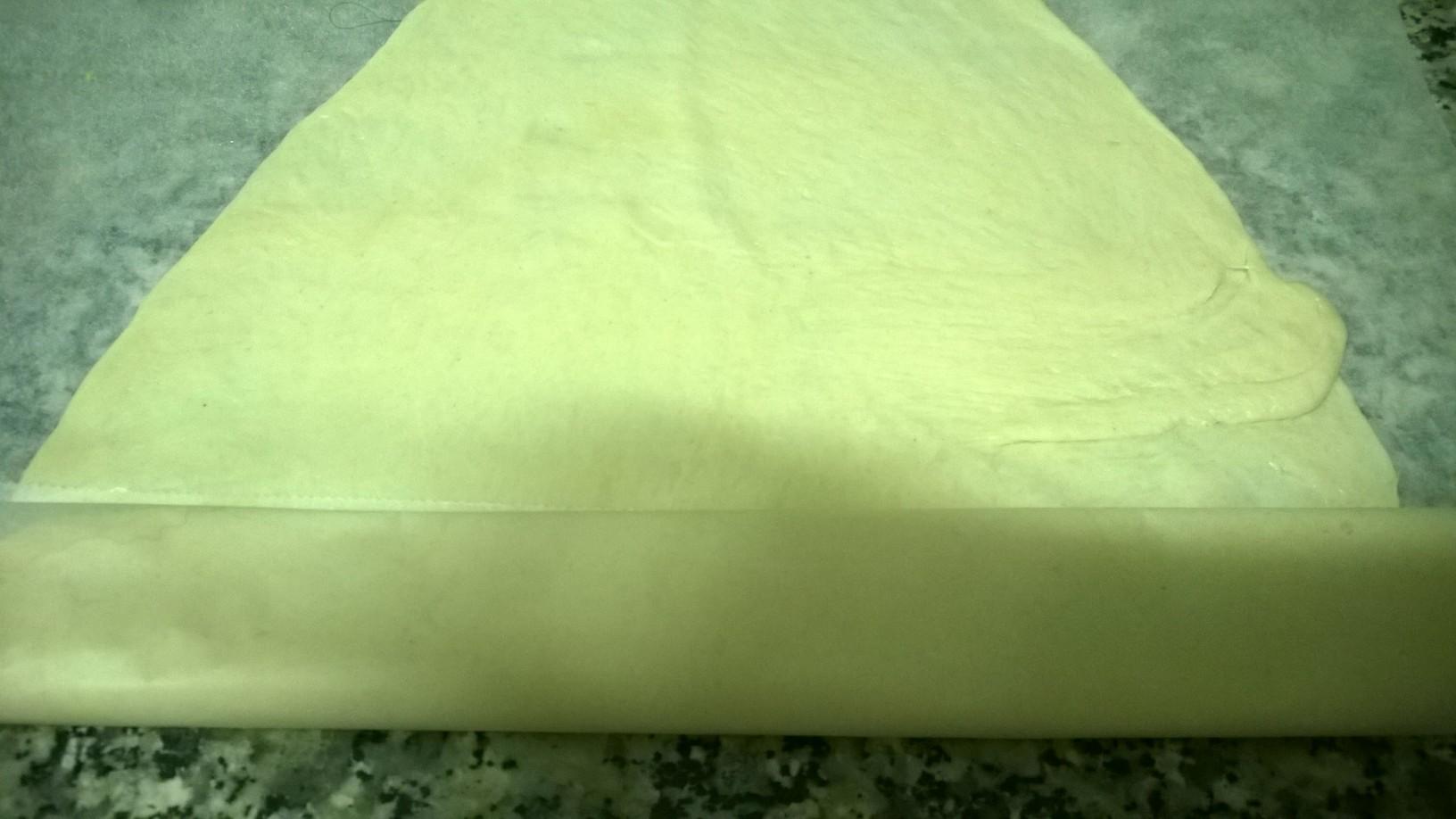 PIZZA DE TRUCHA AHUMADA (O SALMÓN)Y MASCARPONE CON Thermomix®