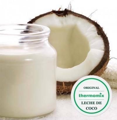 LECHE DE COCO CON Thermomix®