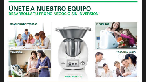 BUSCAMOS AGENTES COMERCIALES DE Thermomix®