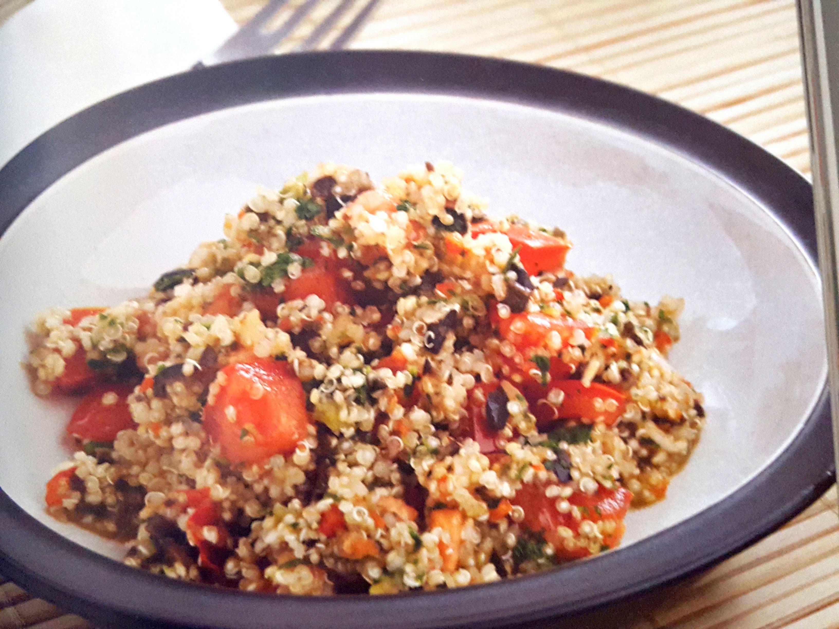 Ensalada Tabulé de Quinoa con Thermomix®