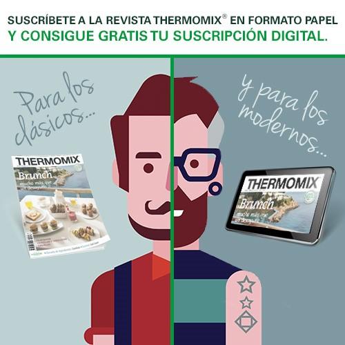 Subscripció digital gratuita amb la teva revista Thermomix®