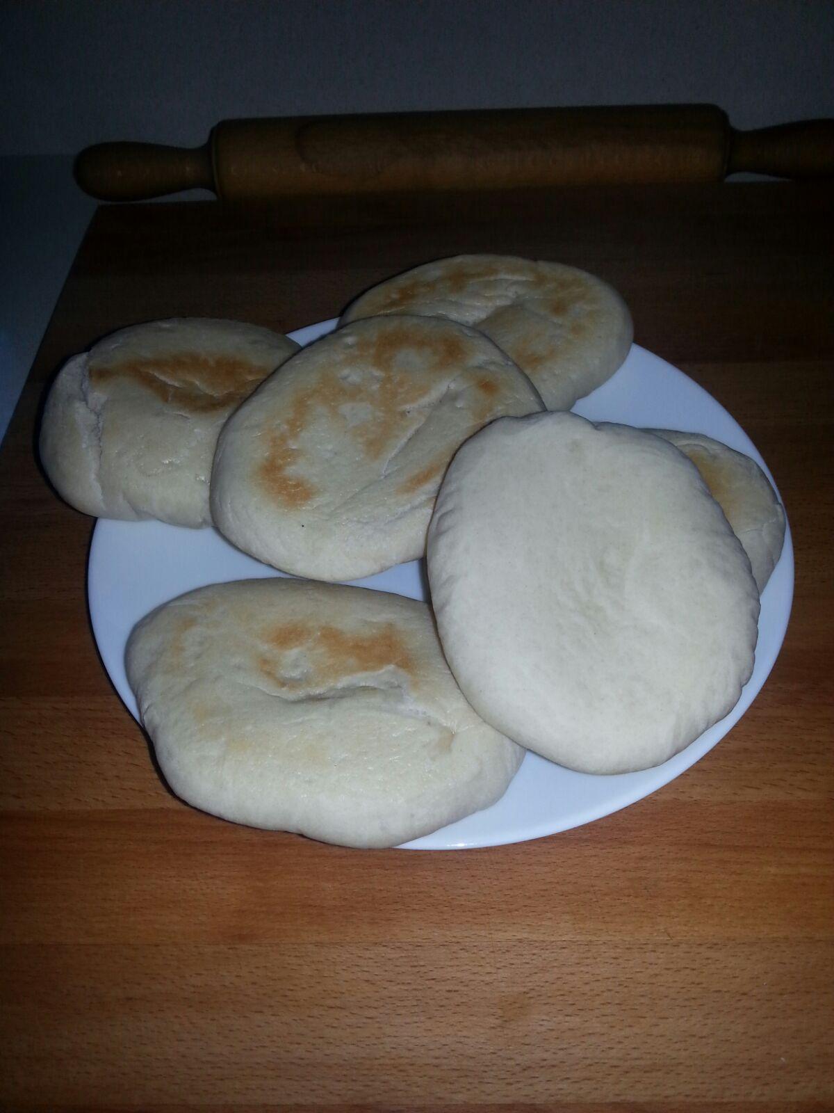 Pan de pita (taller de masas)