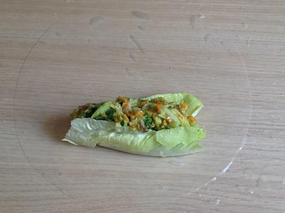 Rollitos vietnamitas fríos con salsa de cacahuetes con Thermomix® TM 5-TM 31