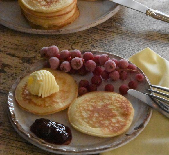 Tortitas americanas (pancakes o panqueques)