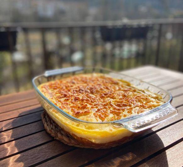 Pastís de polenta / pastel de polenta