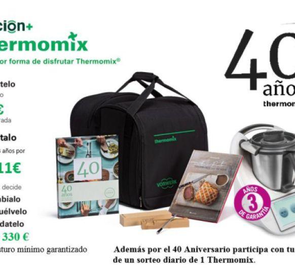 NOVA EDICIÓ Thermomix® TM6 ESPECIAL 40 ANIVERSARI