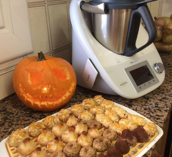 Panellets amb Thermomix®