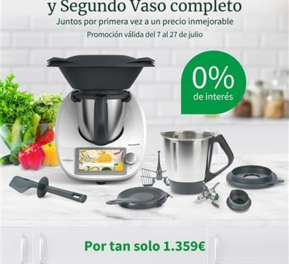 2º VASO Y FINANCIACIÓN AL 0%
