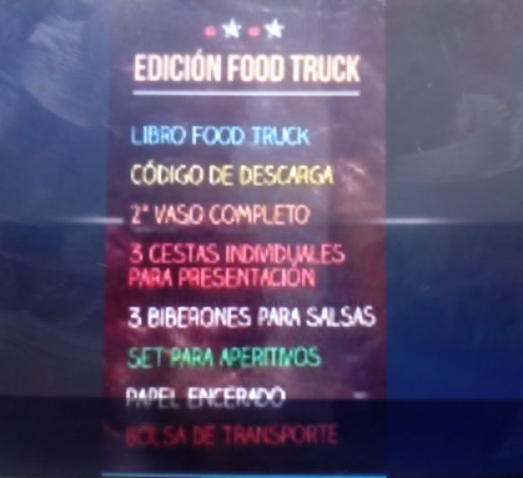Nueva edición especial Food- Truco + financiacion especial