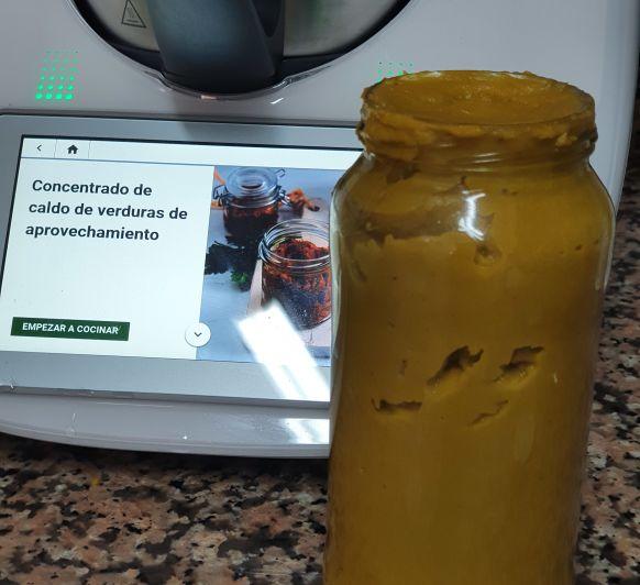 CONCENTRADO DE CALDO DE VERDURAS DE APROVECHAMIENTO