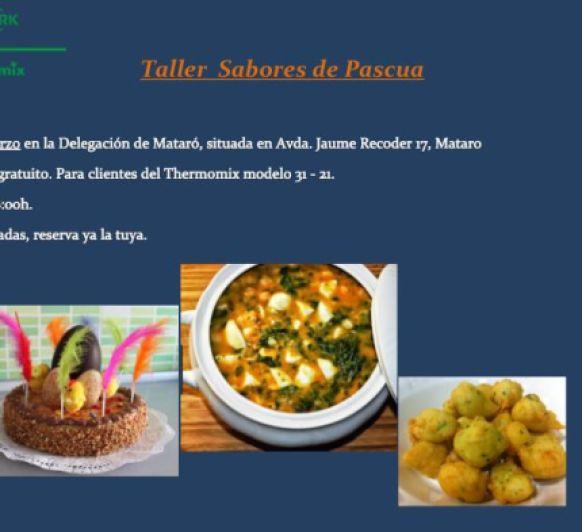 TALLER SABORES DE PASQUA