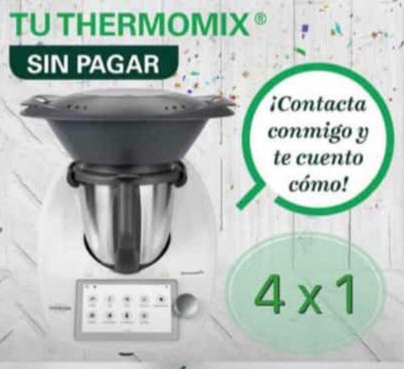Thermomix® gratis consíguela sin pagar.