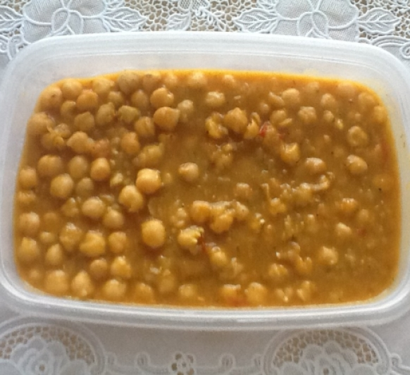 GARBANZOS PICANTES CON Thermomix® .